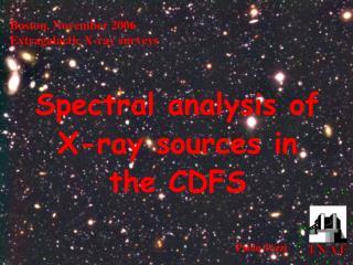 Boston, November 2006 Extragalactic X-ray surveys