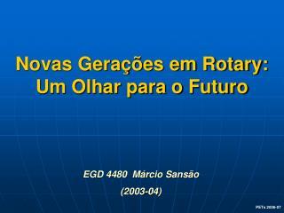 Novas Gerações em Rotary: Um Olhar para o Futuro