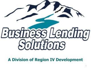 A Division of Region IV Development
