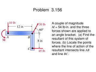 Problem  3.156
