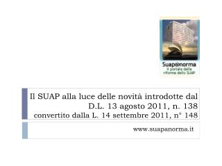suapanorma.it