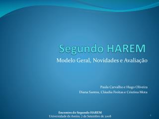 Segundo HAREM