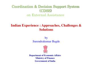 Coordination & Decision Support System (CDSS) on External Assistance