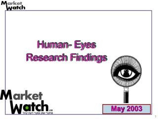 Human- Eyes Research Findings