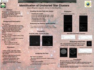 Identification of Uncharted Star Clusters