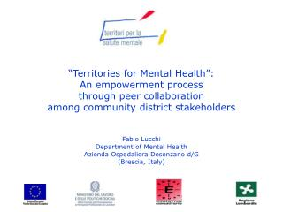 """""""Territories for Mental Health"""":  An empowerment process  through peer collaboration"""