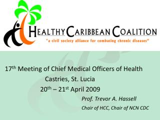 17 th  Meeting of Chief Medical Officers of Health