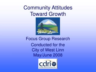 Community Attitudes Toward Growth