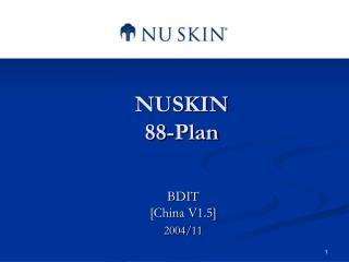 NUSKIN 88-Plan