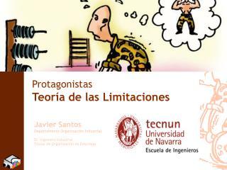 Protagonistas Teoría de las Limitaciones