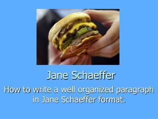 Jane Schaeffer