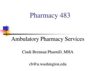 Pharmacy 483
