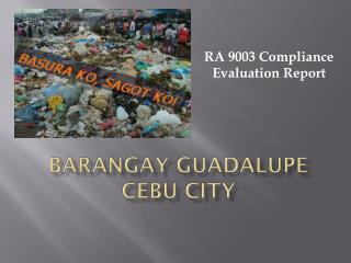 Barangay  Guadalupe Cebu City