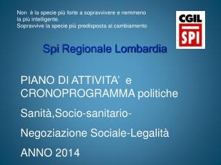 Spi  Regionale Lombardia