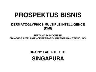 BRAINY LAB. PTE. LTD. SINGAPURA