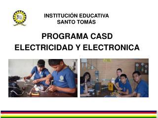 INSTITUCIÓN EDUCATIVA  SANTO TOMÁS