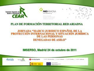 PLAN DE FORMACIÓN TERRITORIAL RED ARIADNA