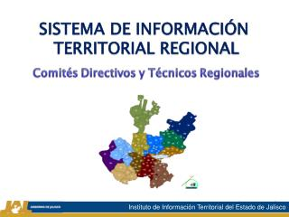 SISTEMA DE INFORMACIÓN  TERRITORIAL REGIONAL
