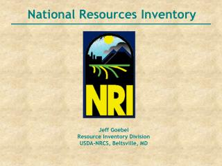 National Resources Inventory
