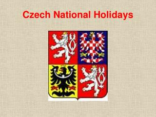 Czech National Holidays