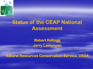 Status of the CEAP National Assessment