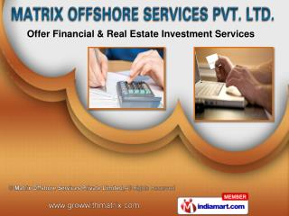 Matrix Offshore Services Pvt Ltd
