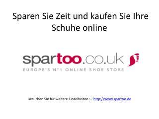 Sparen Sie Zeit und kaufen Sie Ihre Schuhe online