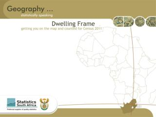 Background According to the Statistics Act 6, 1999 Statistics SA is