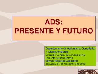 ADS: PRESENTE Y FUTURO