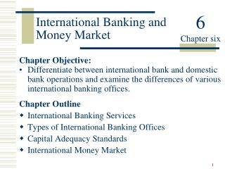International Banking and Money Market