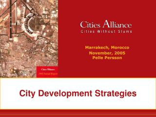 City Development Strategies