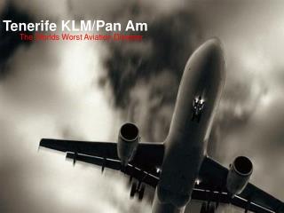 e KLM/Pan Am