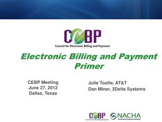 Electronic Billing and Payment Primer