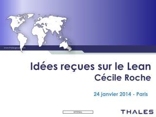 Idées reçues sur le Lean Cécile Roche