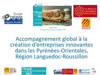 Projet porté par le CEEI  «Plein Sud Entreprises»  pépinière départementale d'entreprises