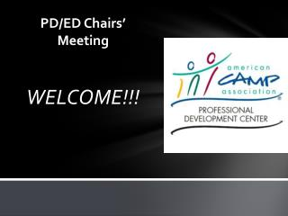 PD/ED Chairs' Meeting
