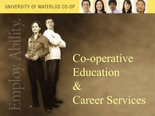 Co-operative Education &  Career Services
