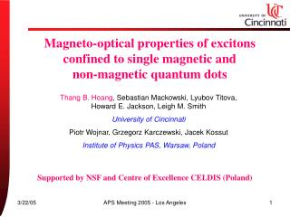 Magneto-optical properties of excitons confined to single magnetic and  non-magnetic quantum dots