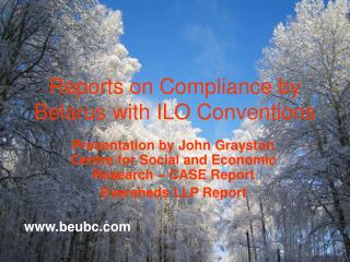Reports on Compliance by Belarus with ILO Conventions