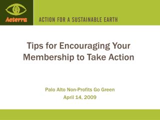 Tips for Encouraging Your Membership to Take Action