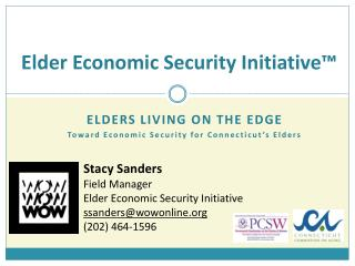 Elder Economic Security Initiative™