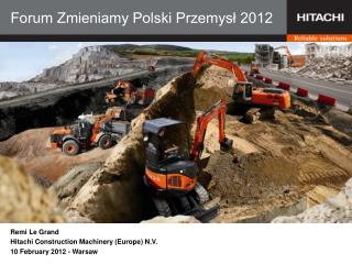 Forum Zmieniamy Polski Przemysł 2012