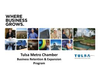Tulsa Metro Chamber Business Retention & Expansion Program