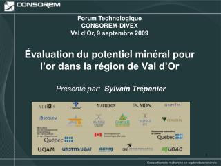 Évaluation du potentiel minéral pour l'or dans la région de Val d'Or