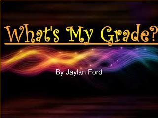 By Jaylan Ford
