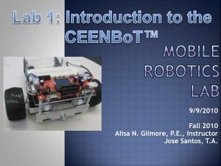 Mobile Robotics Lab