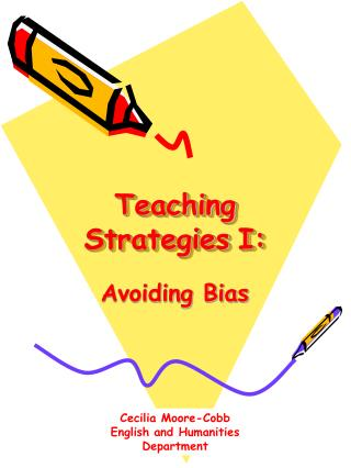 Teaching Strategies I: