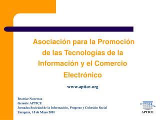 Asociación para la Promoción de las Tecnologías de la Información y el Comercio Electrónico