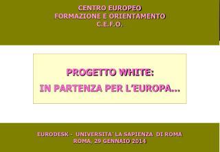 CENTRO EUROPEO  FORMAZIONE E ORIENTAMENTO C.E.F.O.