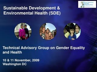 Sustainable Development & Environmental Health (SDE)
